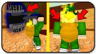 (Coin Code) The Crescendo Hammer And Gold Clover Backpack Are Powerful - Roblox Leprechaun Simulator