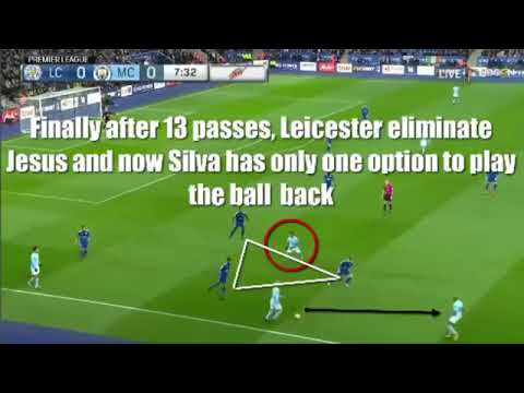 Play, Position and Possession (Pep Guardiola at this best) .. Pass Pass and Pass