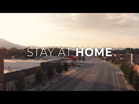 Stay At Home | A Message To Us All