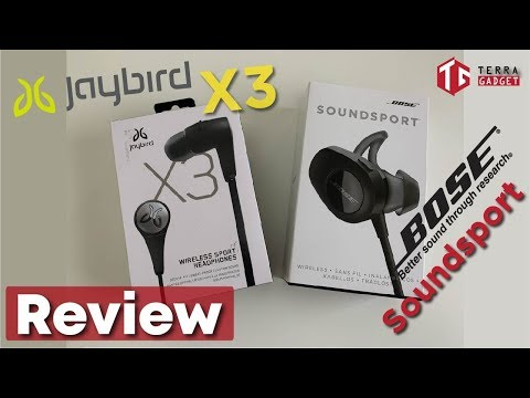 Jaybird X3 vs Bose Soundsport vs Anker Soundbuds Slim+ Review Indonesia  - Wireless Sport Earbuds