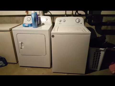 Amana Washer And Dryer MUST WATCH!!