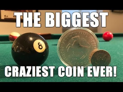 The Biggest Craziest Coin We Have Ever Seen!