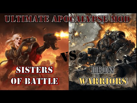 Sisters of Battle VS Chaos Marines   Dawn of War: Ultimate Apocalypse Mod