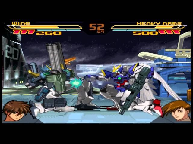 Gundam Battle Assault 2 Gameplay Street Mode (PlayStation,PSX)
