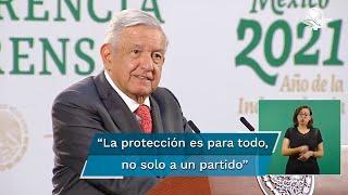 El presidente Andrés Manuel López Obrador detalló que el aspirante fue asesinado el sábado pasado y que el caso está siendo investigado por la Fiscalía de baja California