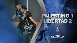 Palestino vs. Libertad [1-2]   RESUMEN   Fecha 6   CONMEBOL Sudamericana 2021