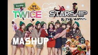 Twice 트와이스 x Starship - Heart Shaker / We Built This City mashup