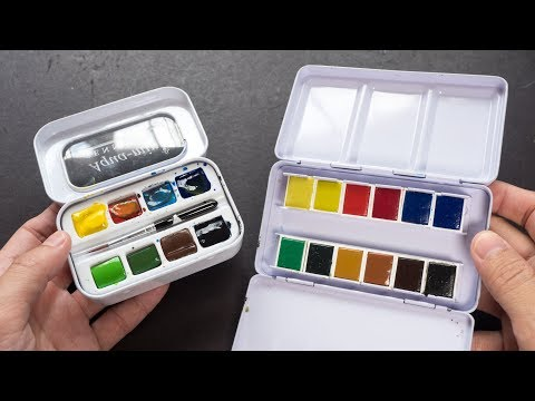 Exploring Your First Watercolor Set