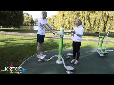 Outdoor Gym Equipment - FLZ Body Twister
