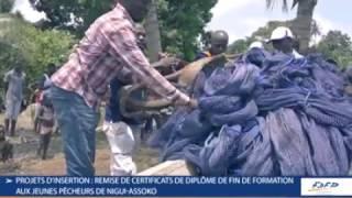 PARTICIPATION CEREMONIE DE REMISE D'ATTESTATION JEUNES DE NIGUI ASSOKO - 07 OCT 2016