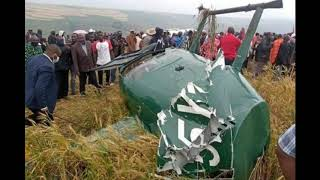 BREAKING NEWS! NAROK GOVERNOR INVOLVED IN A HELICOPTER CRA@SH