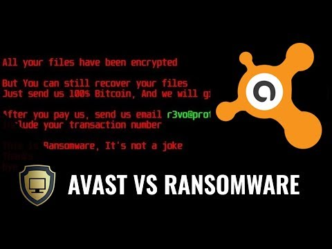 Avast Vs New Ransomware=Disaster
