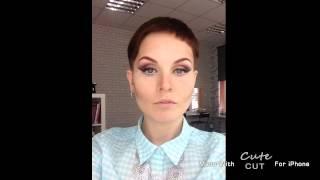 Анна Измайлова Как сделать макияж: дымчатые глаза и стрелки
