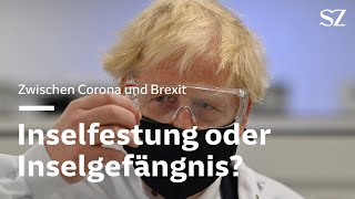 Gesperrte flughäfen, leere supermarktregale: auf grund der corona-lage merken die briten einmal, wie sich brexit anfühlen würde, würde er denn in kra...