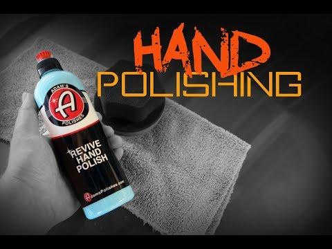 How to polish a car by hand - Adams Revive Hand Polish