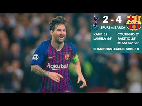 Messi rules Wembley (again!): #TOTBAR