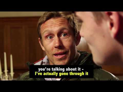 When Jonny Wilkinson met Life After Stroke Award winner Connor