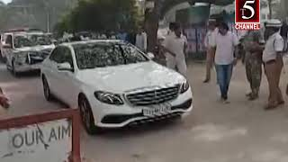 t5 channel warangal ktr car riding news on 07-01-2020