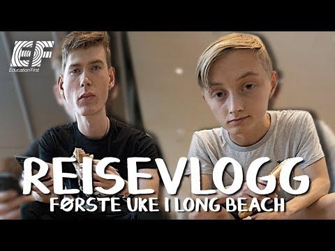 FØRSTE UKE i LONG BEACH! - ReiseVlogg med EF