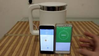 видео Умный чайник Xiaomi MiJia Smart Temperature Control