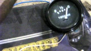 видео подключение датчика топлива камаз схема