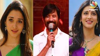 SJ Surya Wants Shruti Hassan, Not Tamanna