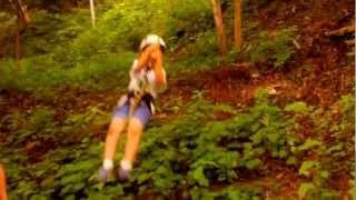 Japan Outdoor Adventures :: International Summer Camp :: Tree Swing