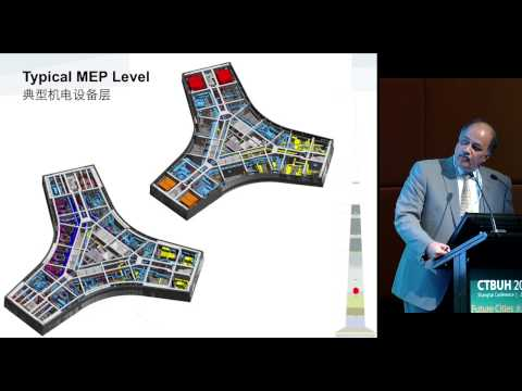 "CTBUH 2014 Shanghai Conference - Mehdi Jalayerian, ""Supertall Buildings Infrastructure"""