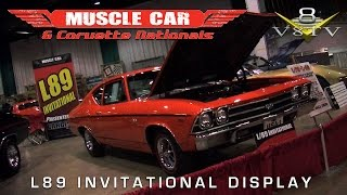 2014 Muscle Car And Corvette Nationals L89 Option Car Display Video V8TV