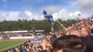 Falkenberg - IFK Göteborg. Sören Rieks första mål i Blåvitt