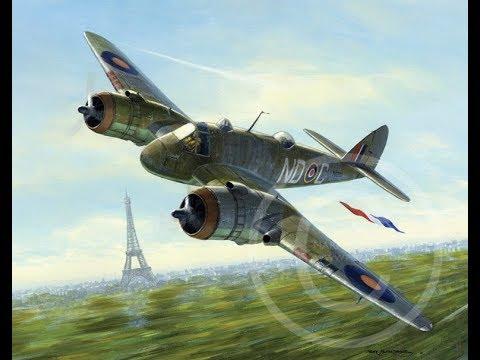 Daring Solo Beaufighter Raid - Paris 1942