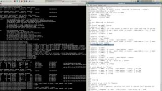 Set up iptables with logging and port-knocking