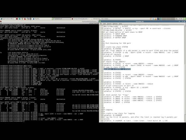 How to set up a stateful firewall with iptables | Linux M0nk3ys