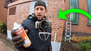 Why is painting Bricks so hard? | Stencil Tutorial - I SUFFERED 2