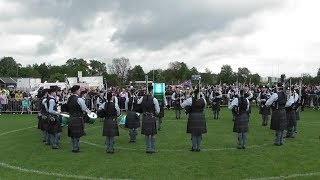 HIGHLAND GRANITE PIPES AND DRUMS BRITISH PIPE BAND CHAMPIONSHIPS 2019 PAISLEY
