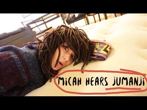 WEB SERIES  MICAH HEARS JUMANJI  Steph Barkley