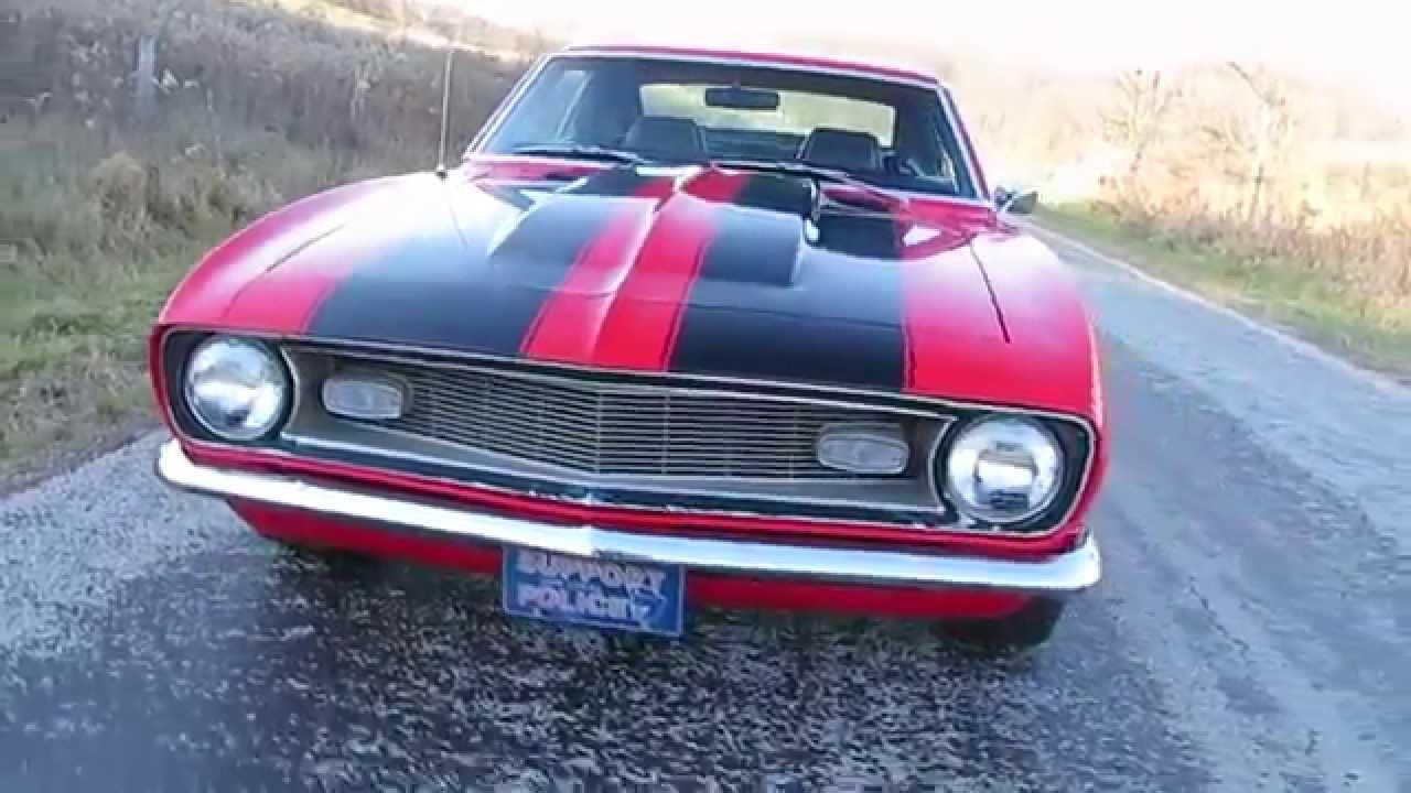 1968 Chevrolet Camaro Hot Rod For Sale In Stone Creek Ohio 43840 ...