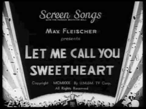 Arthur Clough - Let Me Call You Sweetheart 1911 Vintage Photos