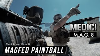 My First MagFed Only Game (M.A.G. 8) Tippmann TMC MagFed Paintball