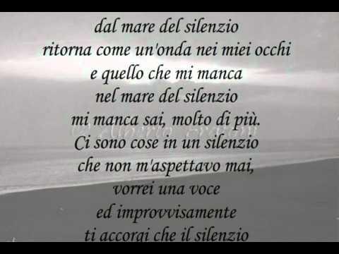 La Voce Del Silenzio (karaoke By Linda) Youtube