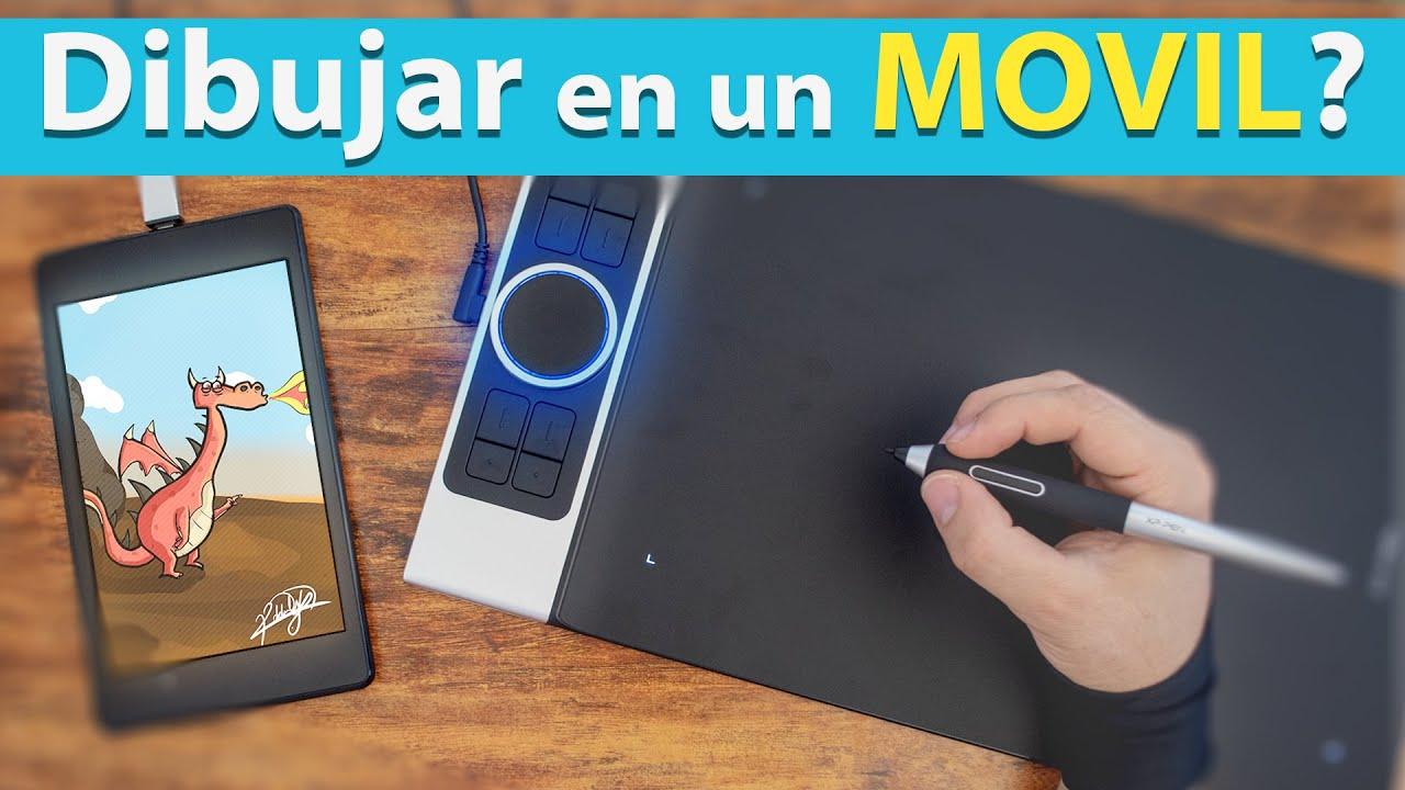 Una Tableta Graficas Para Dibujar En Tu Movil Y Pc Youtube