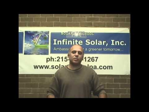 Solar Energy Training Infinite Solar Video Testimonial 5.wmv