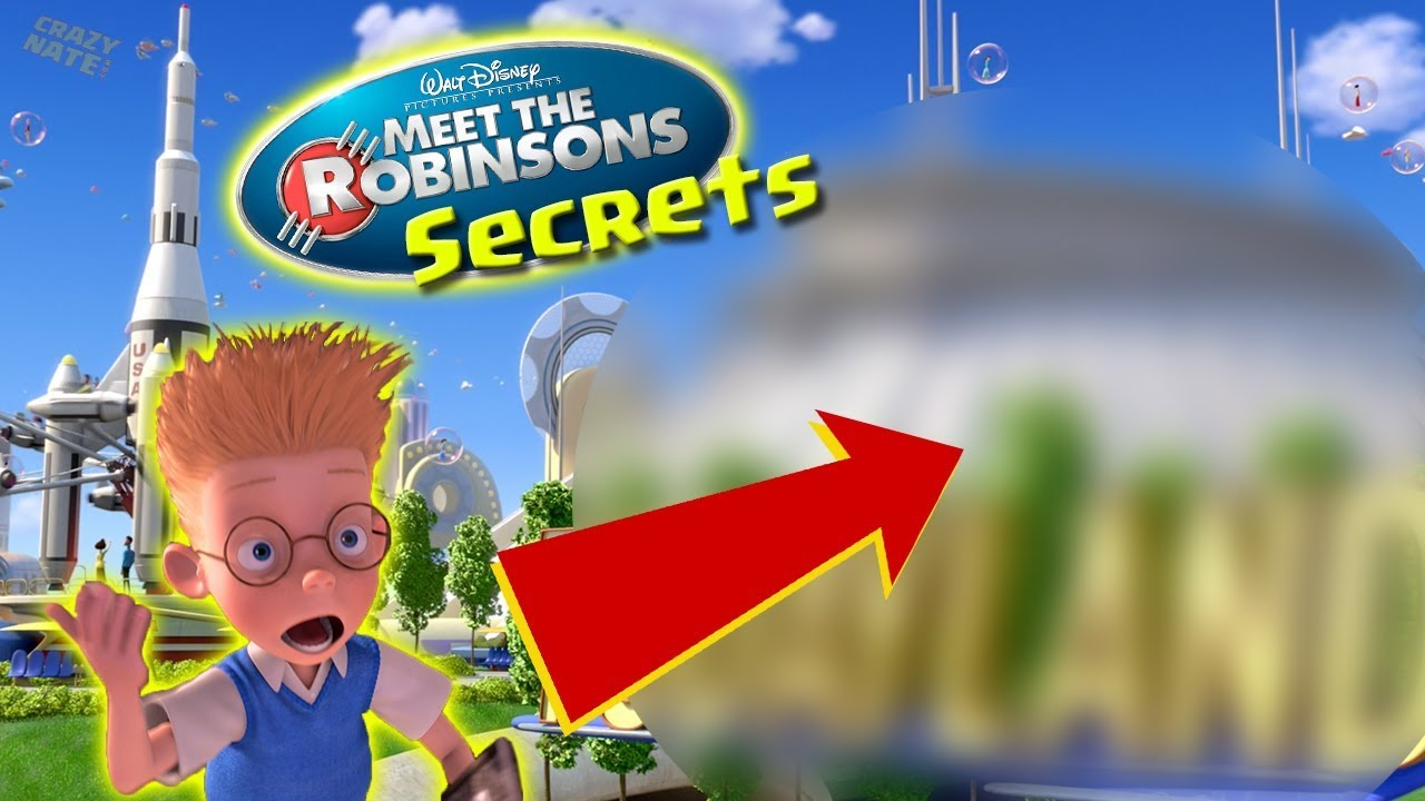 Meet The Robinsons Easter Eggs Youtube