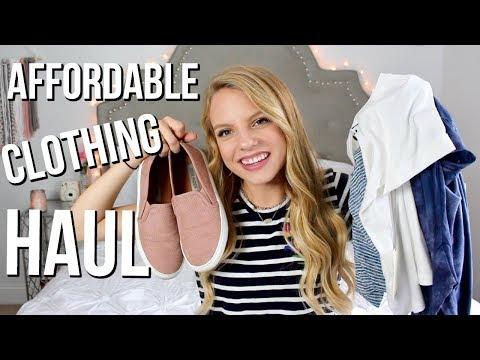 Affordable Clothing Haul  Marshals, TJ MAXX, Target, Sephora + more!!