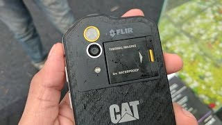 CAT S60 Hands On: Super Rugged Smartphone with Thermal Imaging Camera