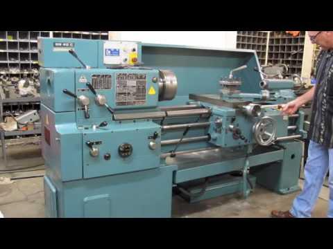 12060 16 x 40 tos engine lathe youtube rh youtube com South Bend Lathe Manual CNC Lathe