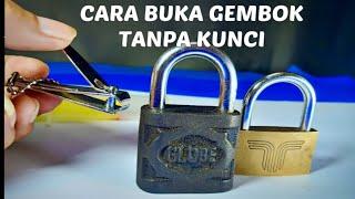 Download 3 Cara membuka Gembok tanpa kunci / 3 way open lock very easy