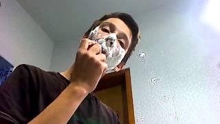 Видеоурок бритья