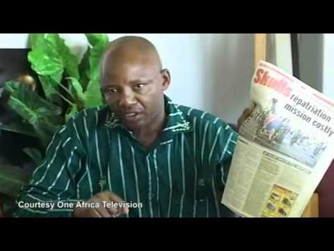Kazenambo fumes at Namibian Sun
