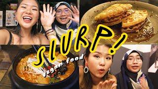VEGAN FOOD IN SINGAPORE | slurp! food guide ep 6 ☼